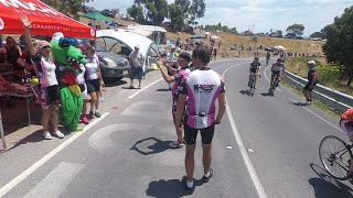 Biggest!! Stage in the Tour Down Under- thousands of cyclists