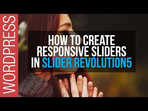 How To Create Responsive Sliders in Slider Revolution 5