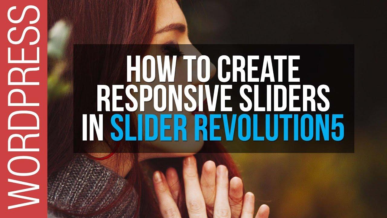 Revolution Slider responsive settings • Themes Zone