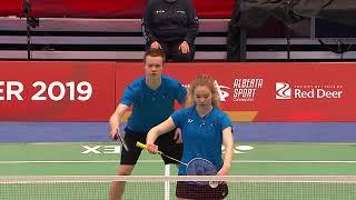 2019 Canada Winter Games Badminton February 27