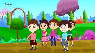 Top 10 des Marathi Pluie de Chansons pour Enfants | Marathi Comptines Pour les Enfants | Ai aai mala pawasat jave de
