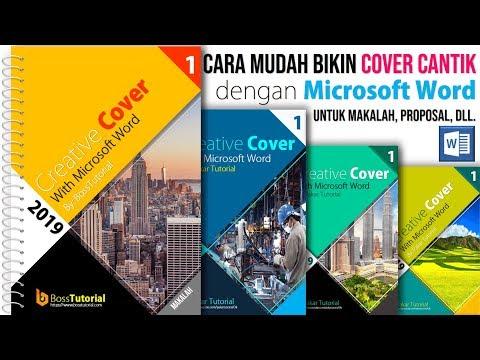 Cara Membuat Sampul Cover yang Menarik dengan Microsoft Word