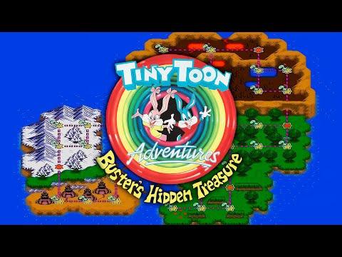 Tiny Toon Adventures: Busters Hidden Treasure (Sega Mega Drive/Genesis).