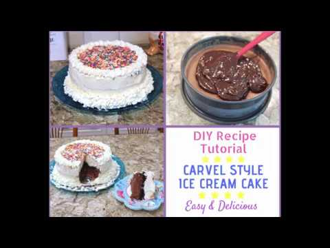 How To Make A Carvel Style Ice Cream Cake