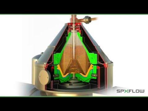 SPX FLOW Seital Separation 3D Separator Animation