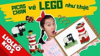 Picaschan và cuốn sổ thần kì - Vẽ đồ chơi LEGO y như thật - Picaschan cũng có lúc bị...ăn hành??!
