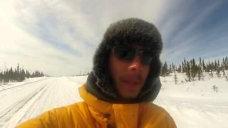 Face caméra progression traîneau - CANADALASKA Thumbnail