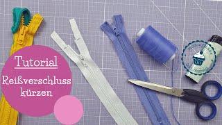 Reißverschluss vorbereiten und kürzen   Nähen lernen   DIY Nähanleitung   mommymade