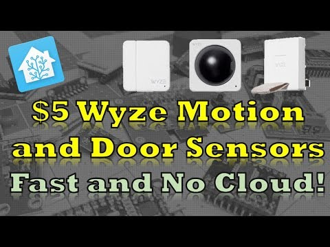 Wyze $5 Door/Motion Wireless Sensors - No Cloud or Camera Required