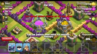 """ALL PEKKA RAID """"WITHOUT SPELLS"""" (CLASH OF CLANS)"""