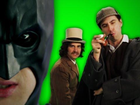 Epic Rap Battles of History - Behind the Scenes - Batman vs Sherlock Holmes
