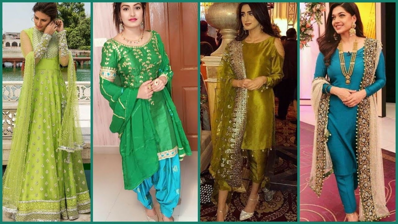 Beautiful Simple Mehndi Function Dresses Ideas For Bride S Sisters Unmarried Girls Youtube,Price List Latest Lehenga Designs 2020 With Price