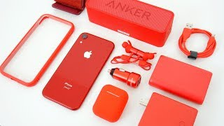 Top Colorful Accessories for the iPhone XR! (Red)
