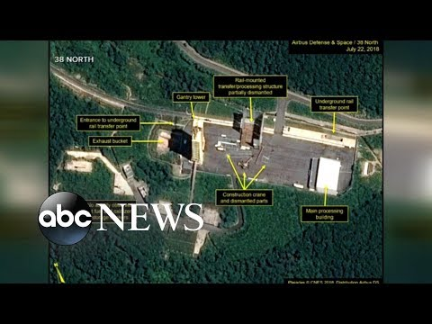 New images may show North Korea dismantling nuclear sites