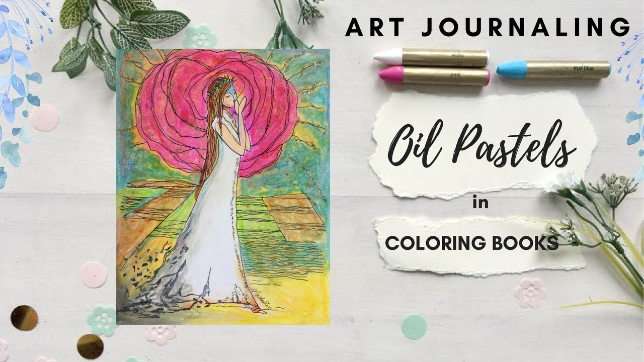 Using Oil Pastels in Coloring Books - 5 Tips and tricks to ...