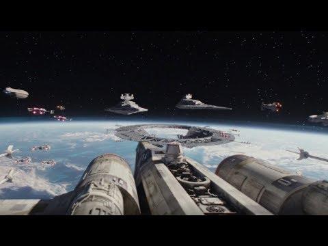 Rebel Fleet arrives to Scarif Scene | Rogue One: A Star Wars Story (2016)