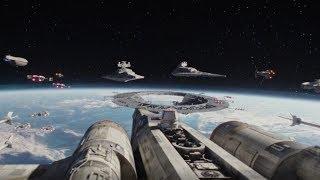Rebel Fleet arrives to Scarif Scene   Rogue One: A Star Wars Story (2016)