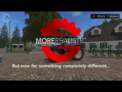 FS17 | moreRealistic | Physics demonstration 🚜  Farming Simulator 17