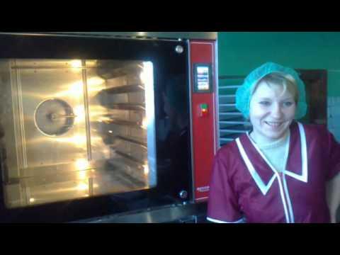 Конвекционная печь Муссон Турбо с расстойным шкафом.