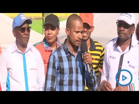 Babu Owino full speech at the NASA rally in Nairobi