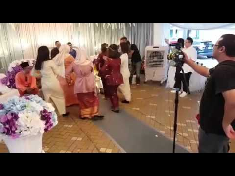 Pencuri Hati -Ayda Jebat Surprise dance for the groom #ANanaMuz