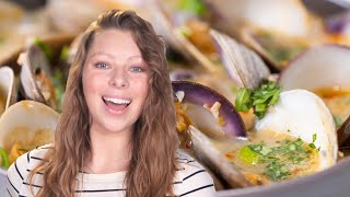 How To Cook Coconut Broth Clams • Tasty