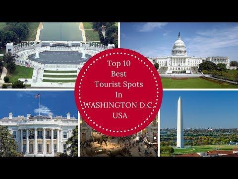 Top 10 Best Tourist Spots In WASHINGTON D.C. USA | RK Travel