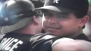 Wilson Alvarez Last Out No Hitter Memorial Stadium Randy Milligan Baltimore Orioles