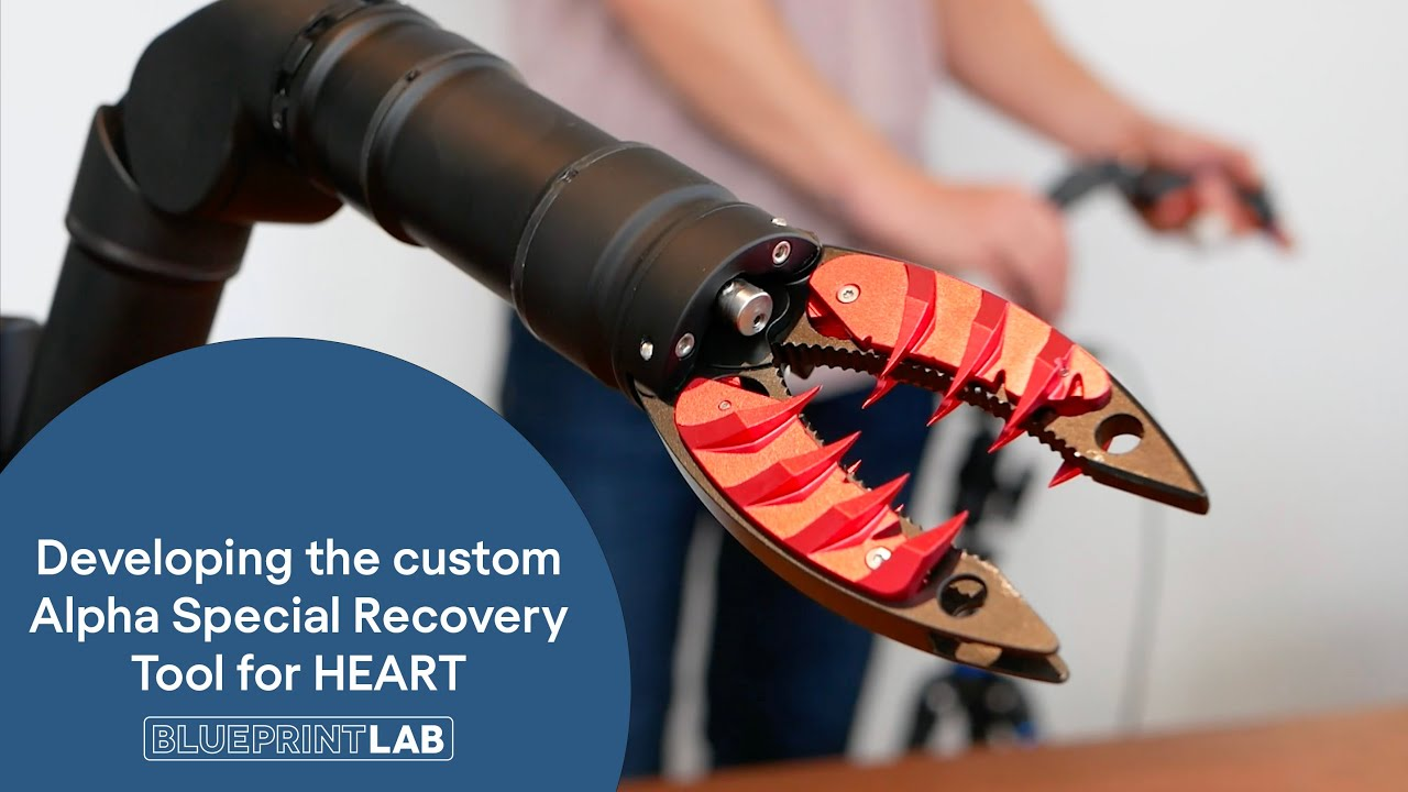 Developing a custom Special Recovery Tool for HEART | BLUEPRINT LAB