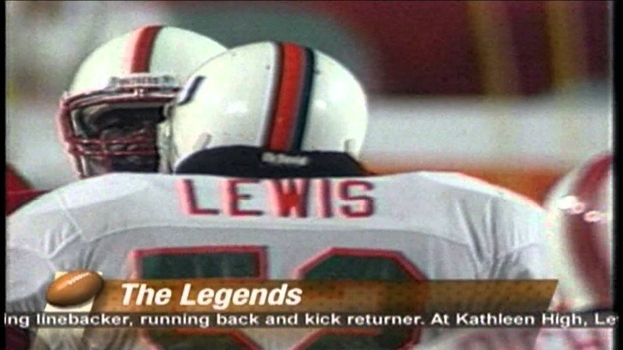 new product 8afc9 f07b9 Ray Lewis: The Legends of Miami DVD at Amazon.com