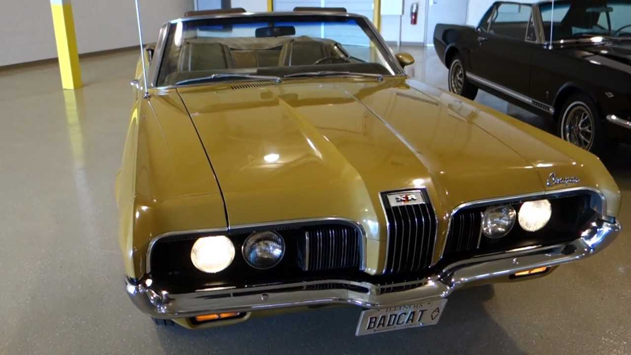 1970 Mercury Cougar Xr7 Convertible Low Mileage Documented
