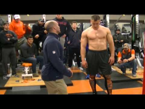 2016 PrincetonTigers Pro Day Workout: Tight End Seth DeValve