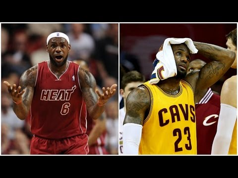The 10 WORST Moments Of LeBron James' Career