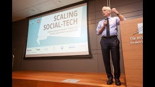 Sir Ronald Cohen speaks at the Scaling Social-tech Conference