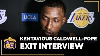 Lakers Exit Interview 2018: Kentavious Caldwell-Pope
