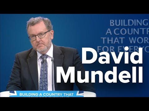 David Mundell: Speech to Conservative Party Conference 2017