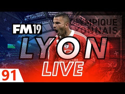 Football Manager 2019 | Lyon Live #91: Disaster. #FM19