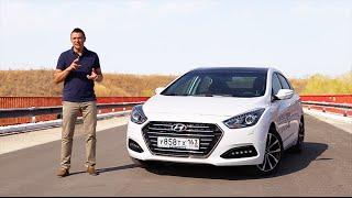 Hyundai i40 2015 Тест драйв. Игорь Бурцев смотреть