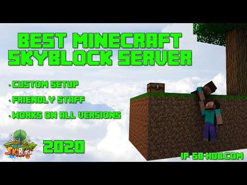 The Skyblock Hub Trailer