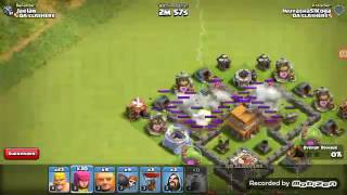 Clash of Clans Taking on Two People for Twice The FUN