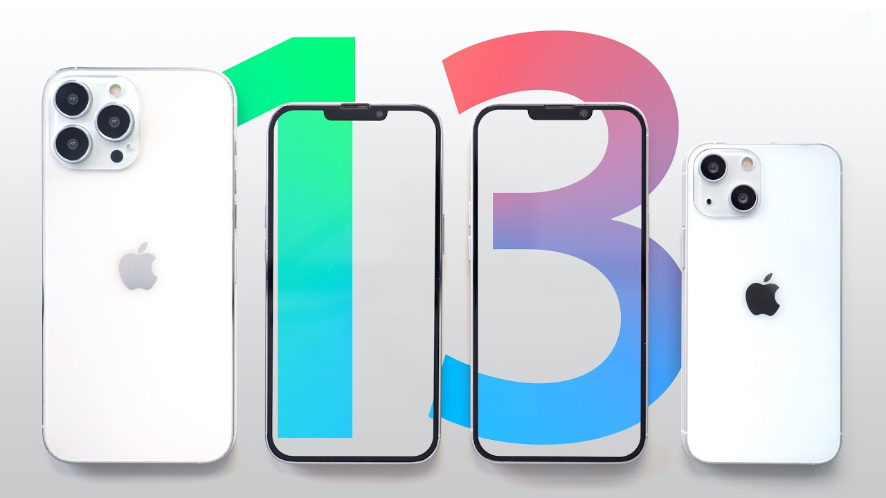 Here is the iPhone 13!