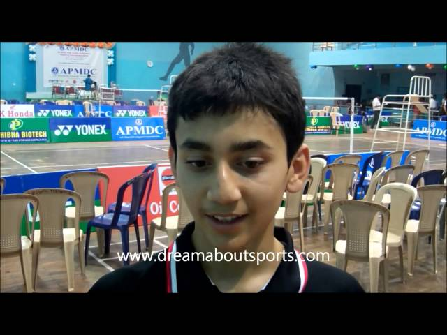 Rising Stars - Lakshya Sen U-15 national badminton champion