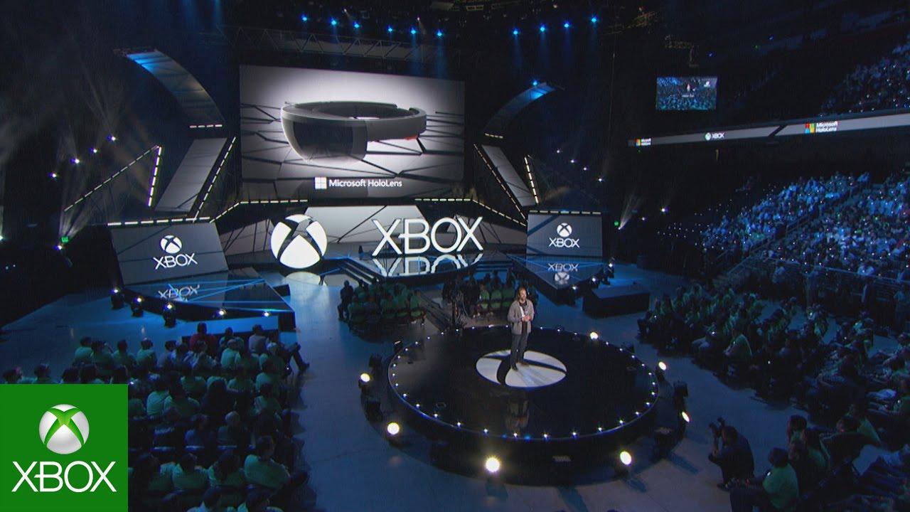 e05e11469b3 HoloLens - Xbox E3 2015 Briefing - YouTube
