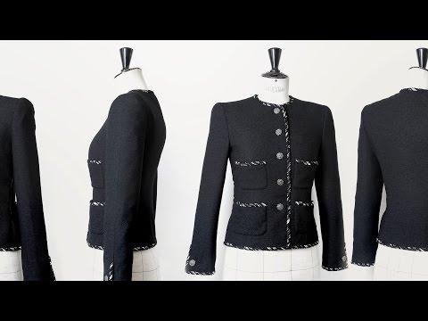 Jak uszyć żakiet Chanel? Filmik prosto z kuźni Karla Lagerfelda