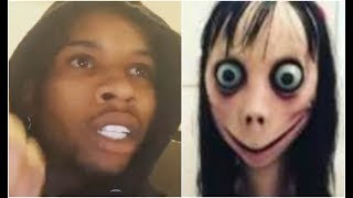Tory Lanez Reacts To MoMo Challenge