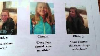 Breaking News Alert!-Drugs In Middle School!