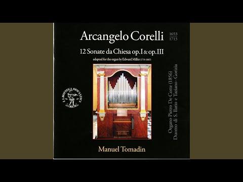 12 Trio Sonatas, Op. 1, No. 3 in A Major: I. Grave