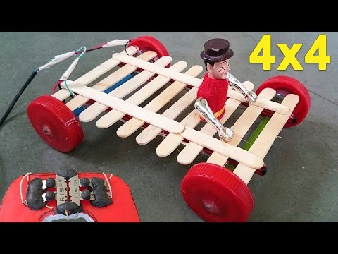 How to Make a Remote Control Car -- Homemade Remote