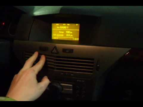 Opel ASTRA H CD30 MP3 + iPOD (DIY AUX IN)