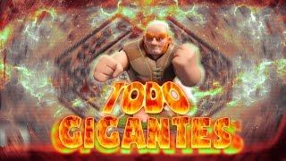 ¡Pedazo Ejercito! Todo Gigantes = Botinazo + Próximo directo! Clash Of Clans Español